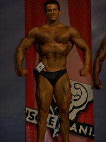 Larry after at Musclemania
