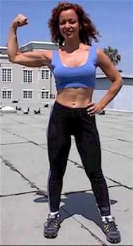 female Santa Monica personal trainer Deena