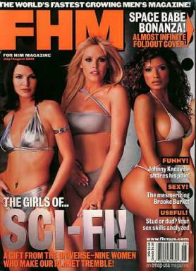 Michelle Lintel FHM July 2001