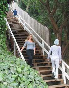 santa monica stairs