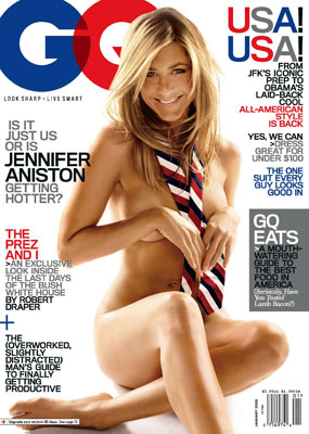 Jennifer Aniston GQ cover