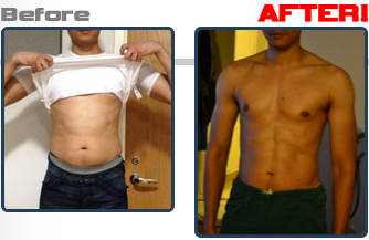 personal trainer before and after Ben Jones