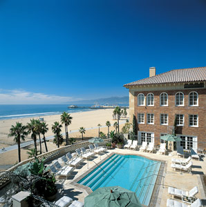 santa monica fitness vacation hotel on the beach
