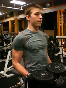 Teens at the gym