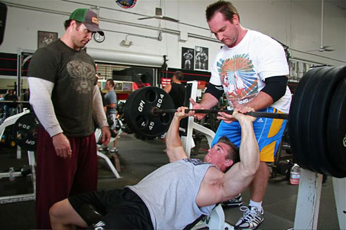 mike o hearn bench press