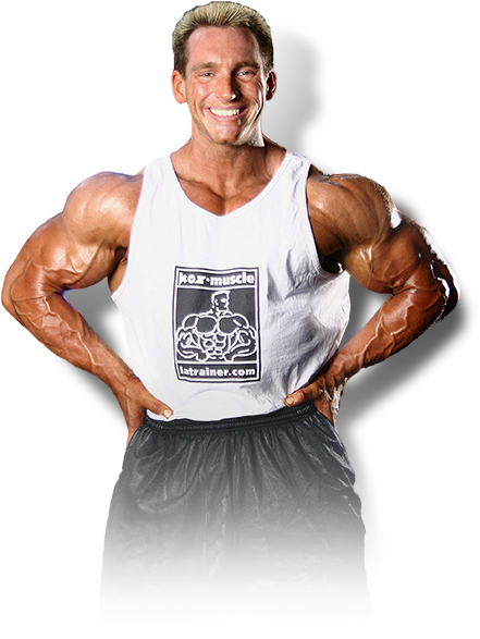 Santa Monica personal trainer Mr. Muscle Beach