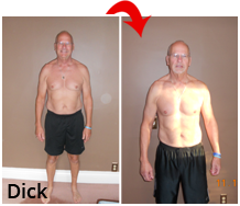 Dick before and after