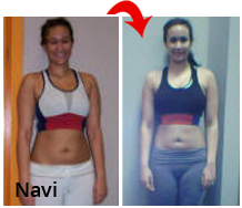 Navi before and after