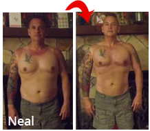 Neal weight training results