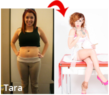 Tara before and after