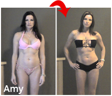 Amy body transformation