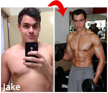 Jake men's physique competitor
