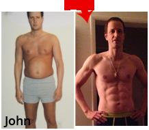 John body transformation