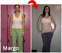 Margo fat loss results