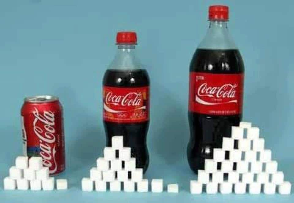 the amount of sugar in coke