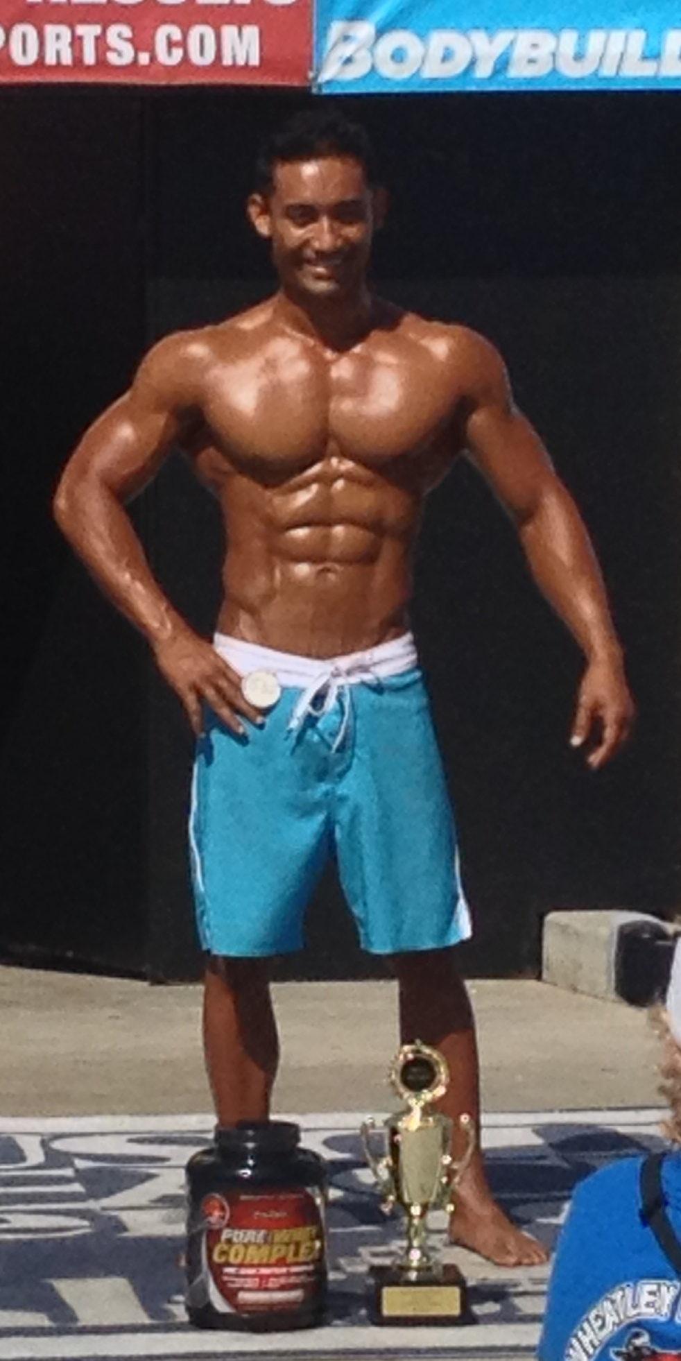 muscle beach physique winner Nick