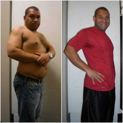 Barry's 65 lb weight loss