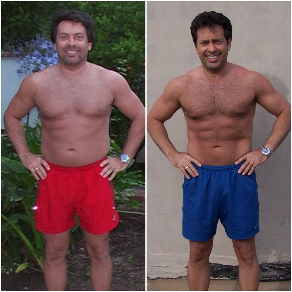 Jeff lost 15lbs of fat
