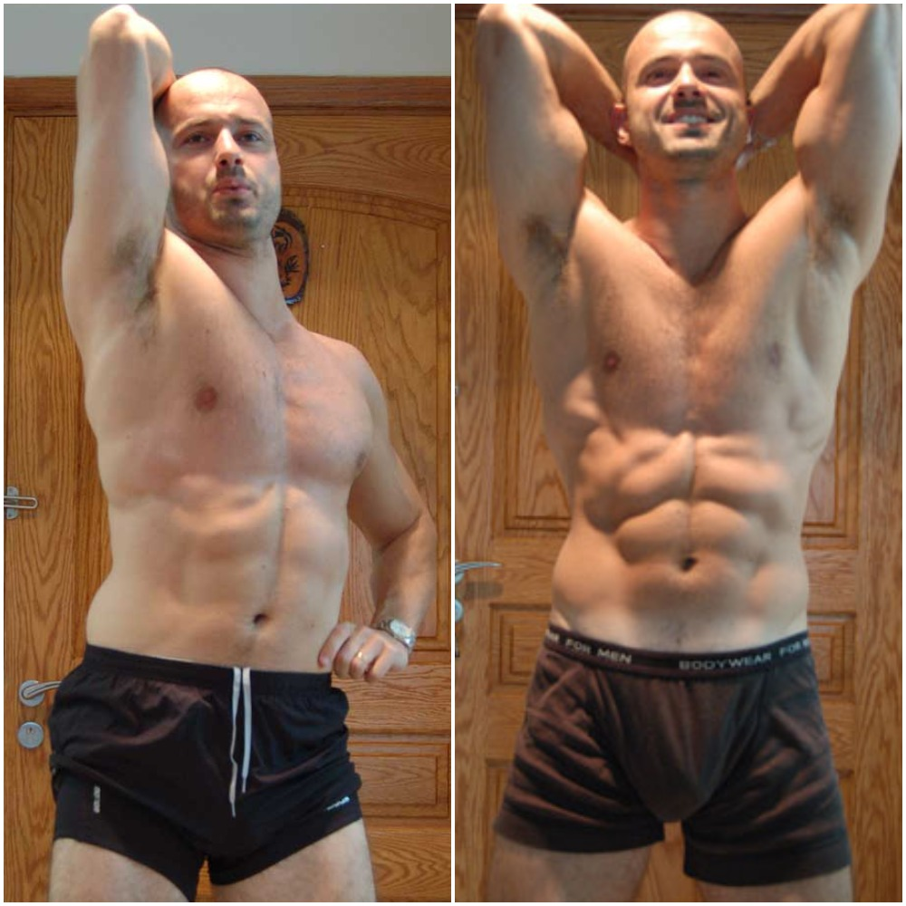 alex dubialdo before and after abs